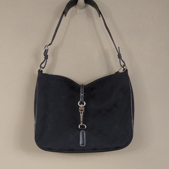 Coach Clip Shoulder Bag
